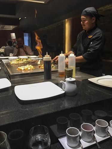 Preparing dinner, Royalton Riviera Cancun Resort & Spa, Mexico