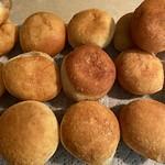 Homemade brioche doughnuts