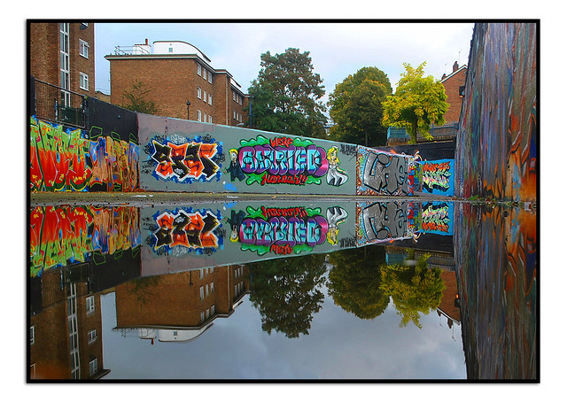 LONDON STREET ART @ the STOCKWELL HALL OF FAME.