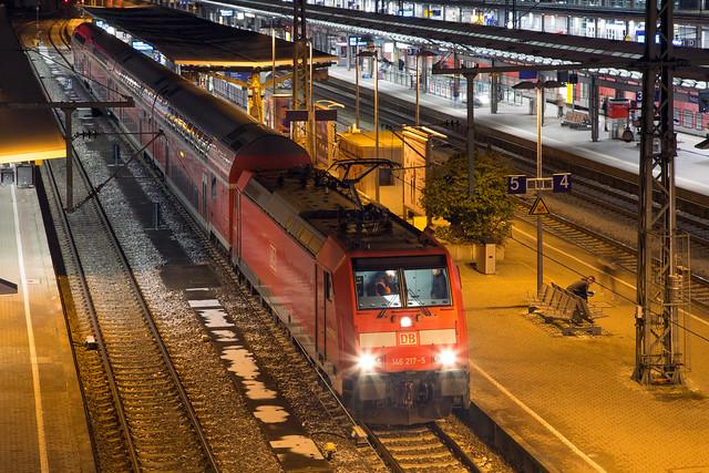 DB Regio 146 217 Freiburg Hbf