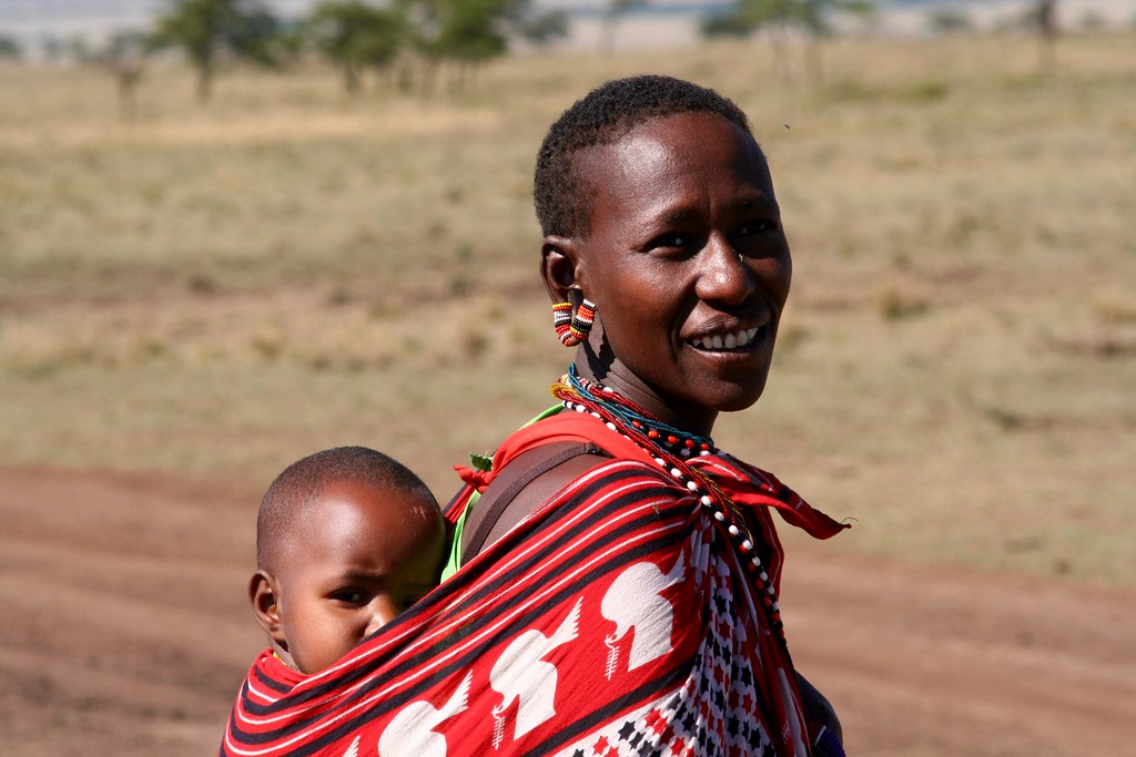 Masaï family