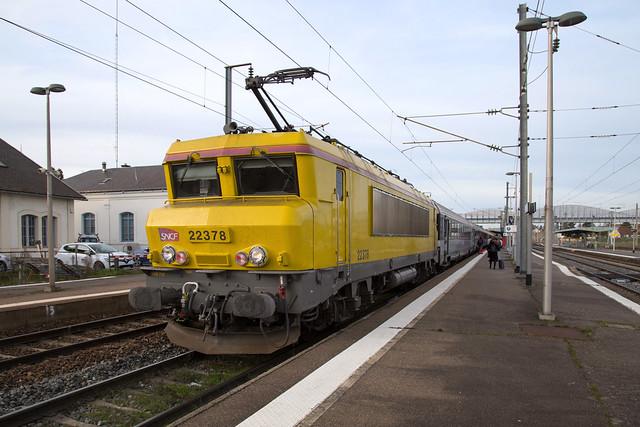 SNCF 22378 Moulins sur Alliers (03)
