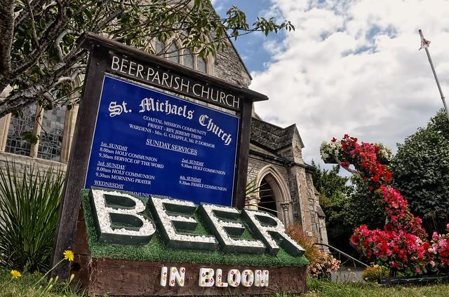 Beer in bloom