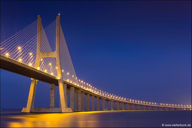 Vasco da Gama Bridge Lisbon