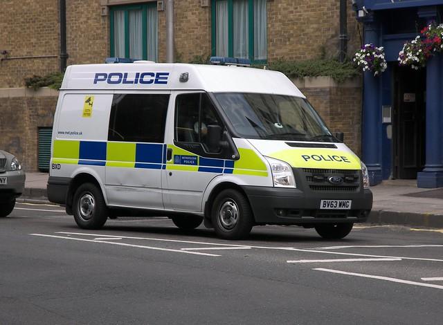 Ford Transit (BV63 WMG) - Metropolitan Police BXD