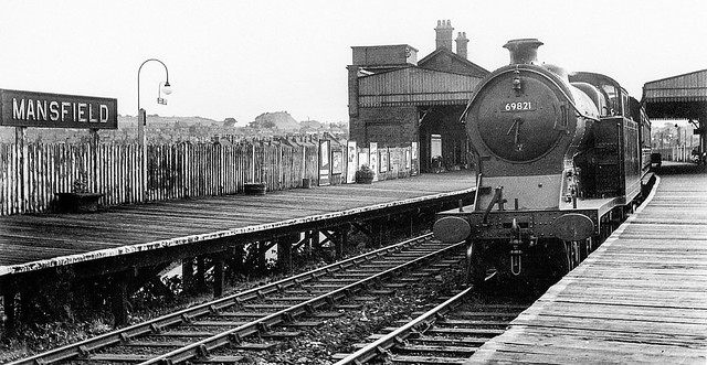 69821. Mansfield Central 1951.