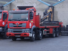 Beaker63 posted a photo:	DX 06 FVZ  -  Foden Alpha 3000 345 8W Flatbed
