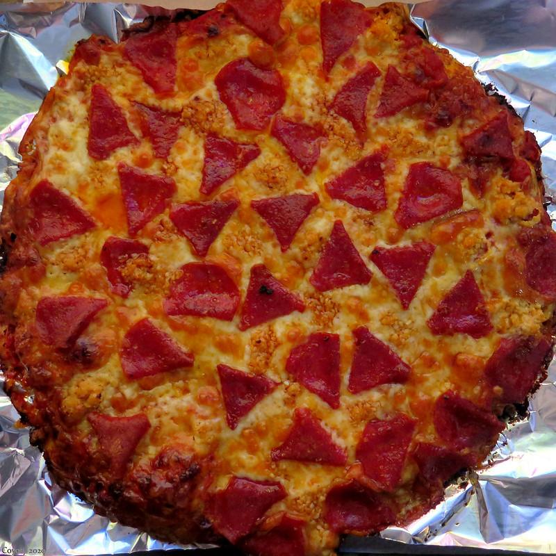 Coronavirus Pizza