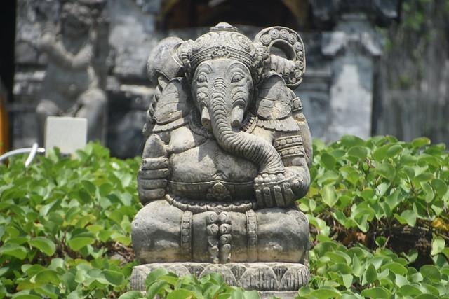 Ganesh Statue in Seminyak, Bali, Indonesia.