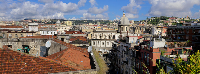 Rooftop view on Saint Caterina a Formiello - Napoli