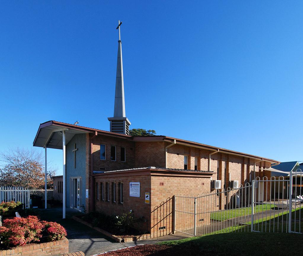 St. Thomas Anglican Church, Auburn, Sydney, NSW.