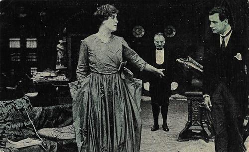 Hesperia and Tullio Carminati in La donna abbondanata (1917)
