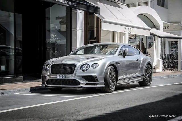 Bentley Continental Supersports (Puerto Banús)