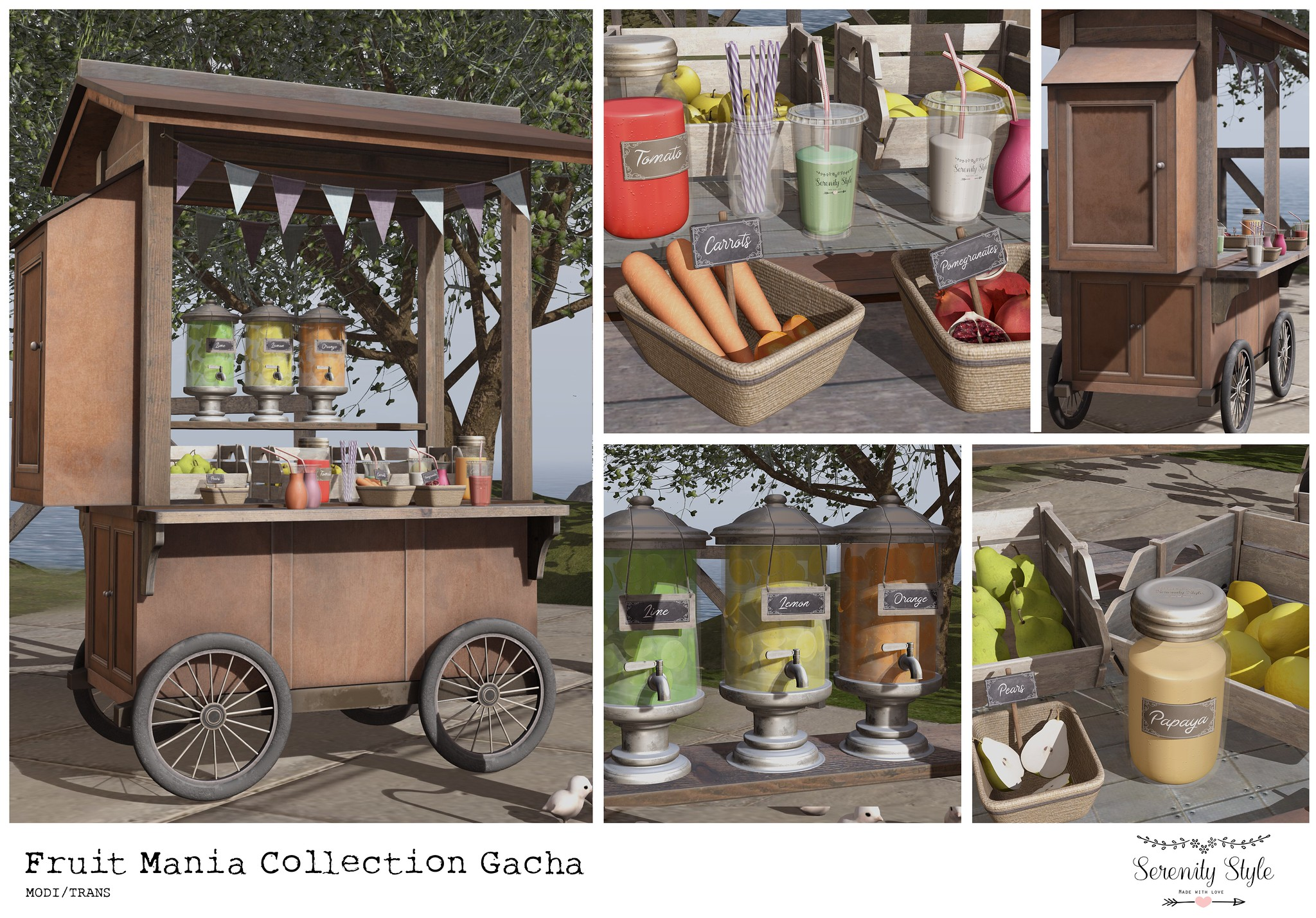 Serenity Style- Fruit Mania Collection ad