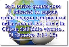 Il culto deve essere fatto come dice il Signore nella Sua Parola e non come dice Cesare