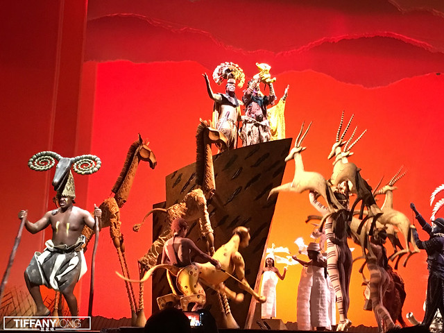 The Lion King Musical 2018 birth of Simba