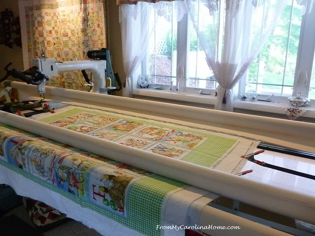 Charity Quilting at FromMyCarolinaHome.com