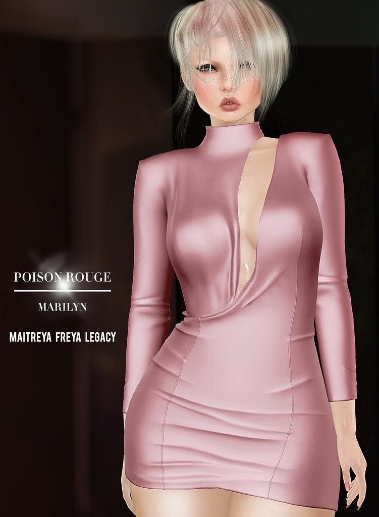 POISON ROUGE Marilyn Dress