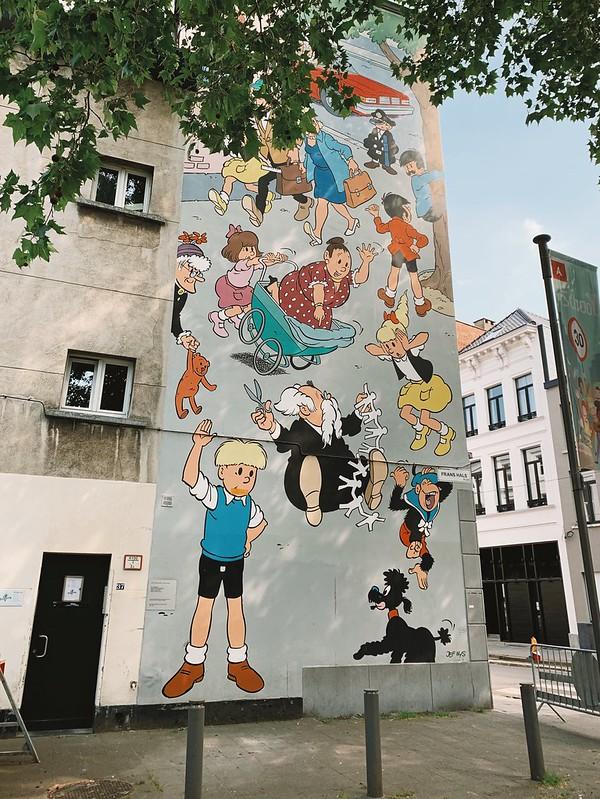 Jommeke (mural en Amberes)
