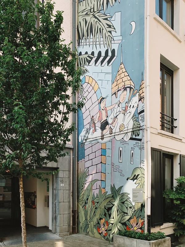 Suske en Wiske (Murales en Amberes)