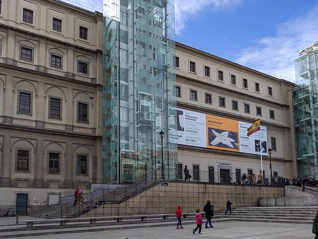 The Museo Nacional Centro de Arte Reina Sofía Madrid Spain