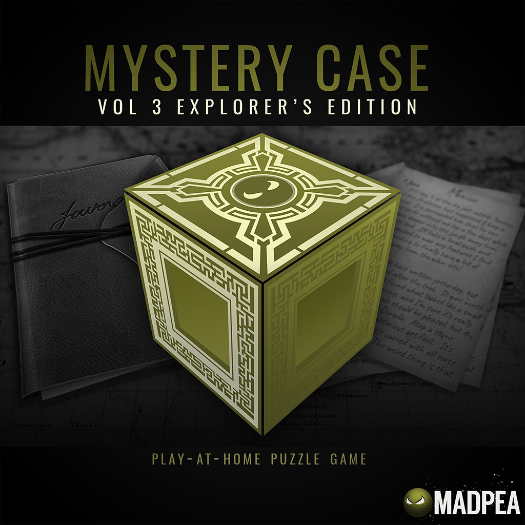 MadPea Mystery Case Vol. 3 – Explorer's Edition @the Man Cave event!