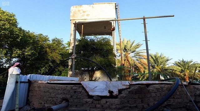 4295 1400 years old Uthman bin Affan well in Madina that still flows water 02