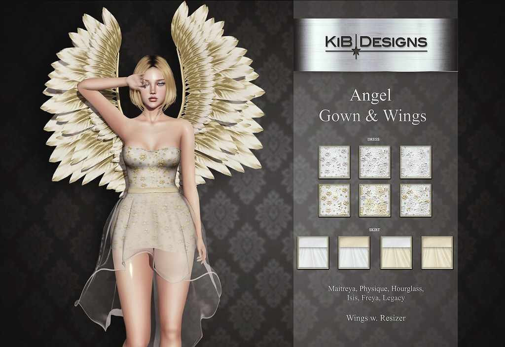 KiB Designs – Angel Gown & Wings @SOLA FESTA Event