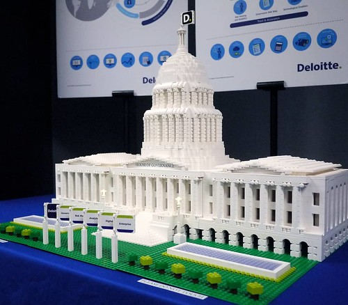 Here is a memorable build for an awesome client. Many years ago @artisanbricks built this brick House of Governance for @deloittesingapore - the design is loosely based on the United States Capitol Building. Good times! :) #customdesign #deloitte #artisan | by www.artisanbricks.com