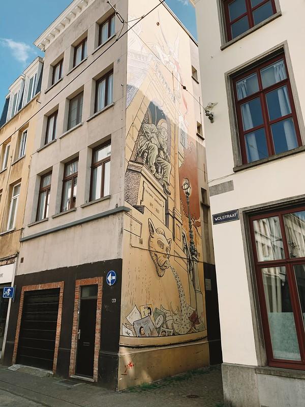 Conscience (Murales en Amberes)