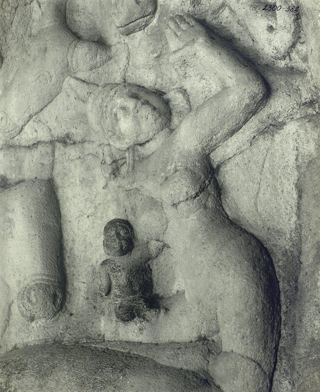 Мамаллапур (рельефы и детали рельефов)