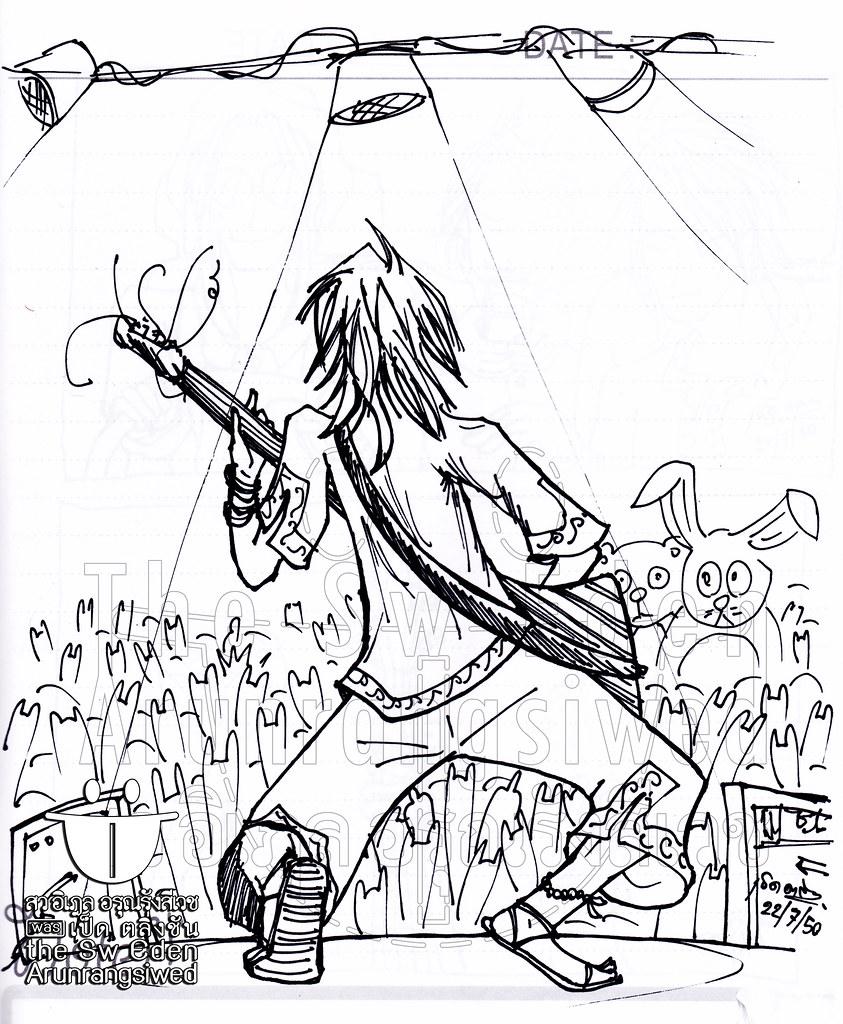 Kendo เล่นกีตาร์ เมื่อก่อนเรา into ฟุตบอลกับดนตรีมาก ๆ