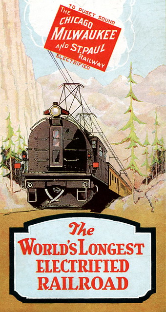 Milwaukee Road US Map cover crop