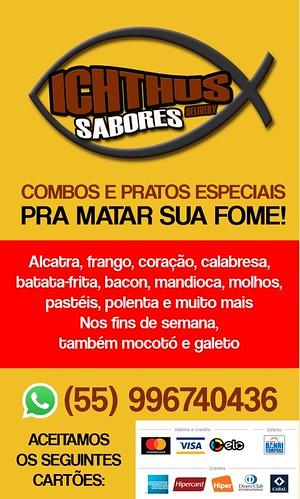Ichthus Sabores - Seu mais novo delivery em São Gabriel
