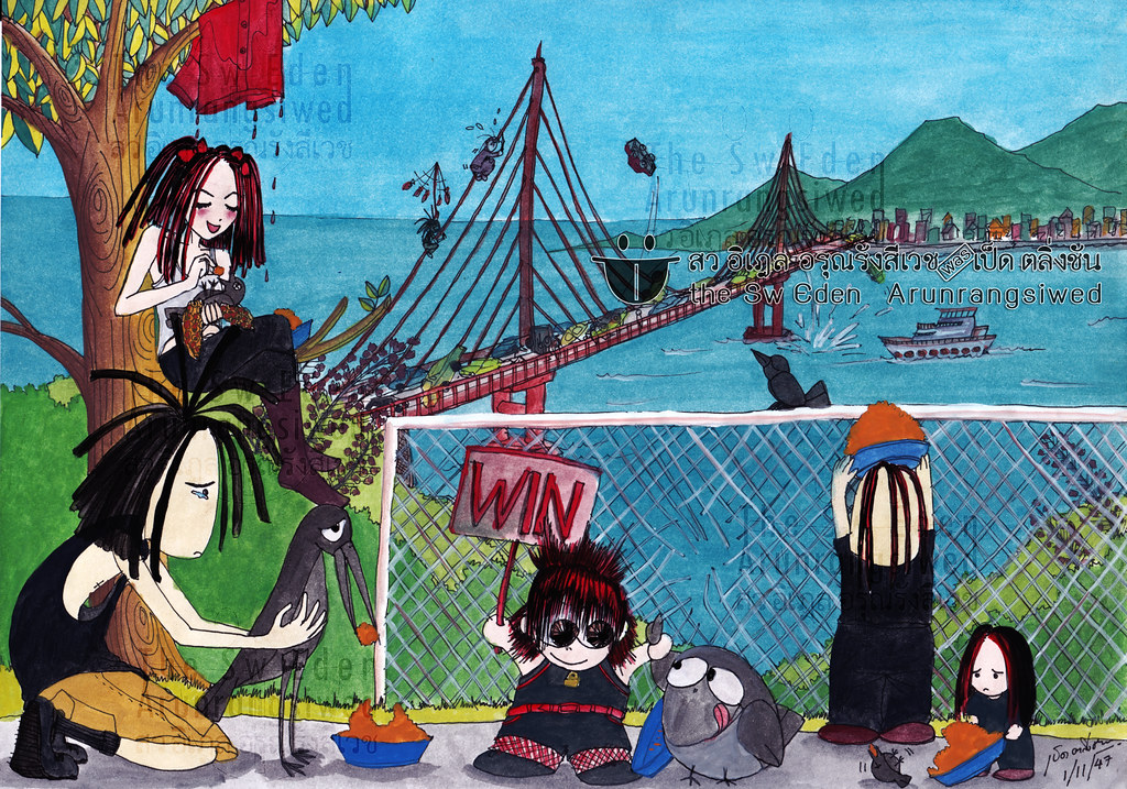 ben acey joey jordison wednesday 13 eric griffin crow raven Murderdolls Fan Art สว อิเฎล band Golden Gate Bridge California Lombard Street San Francisco Filbert street