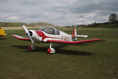 G-ASJZ Jodel D.117A [826] Popham 130512