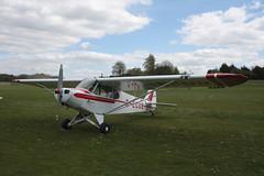G-ECUB Piper PA-18-150 [18-6279] Popham 130512