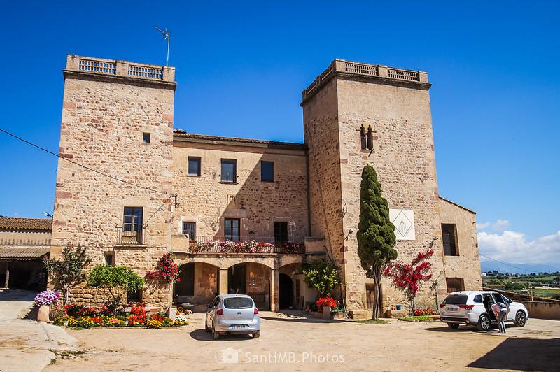 Torre d'en Malla en Gallecs