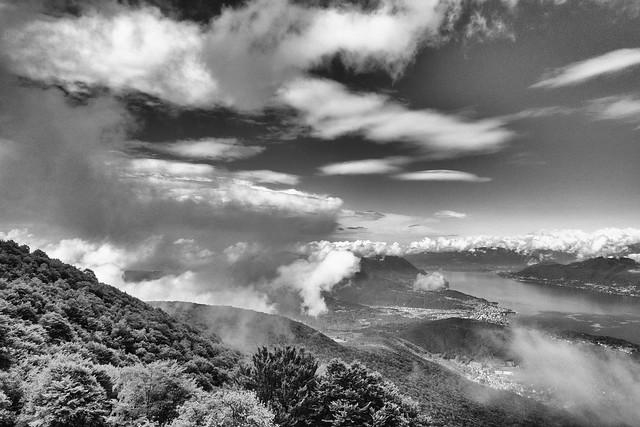 Luino dall'Alpe Dumenza oggi 17 maggio
