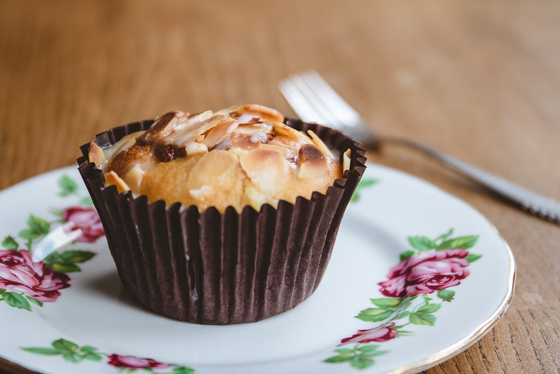 Cherry-Bakewell-Muffin-Recipe