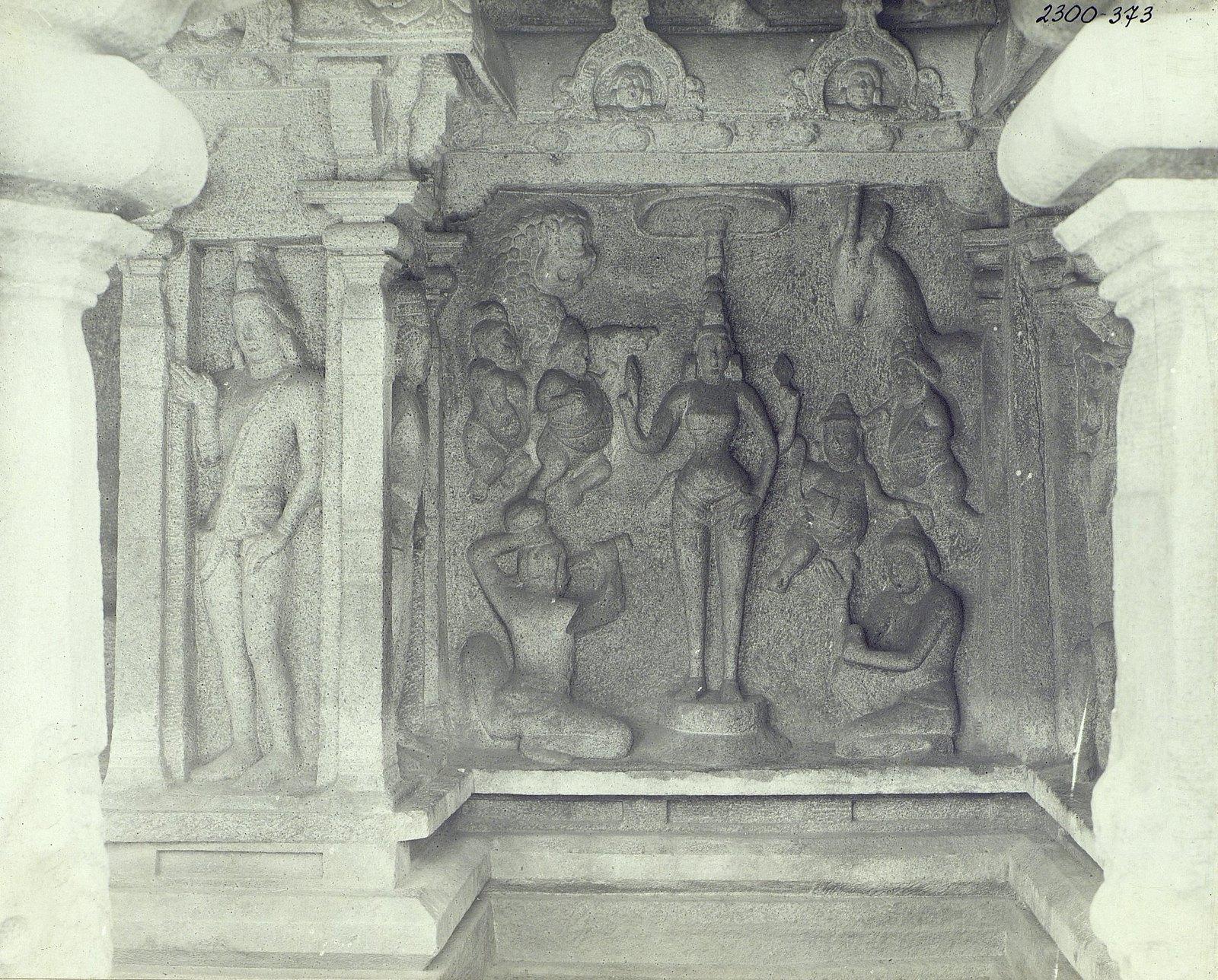 Мамаллапур (рельефы и детали рельефов).