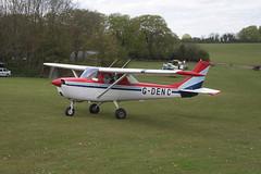 G-DENC Reims-Cessna F.150G [0107] Popham 130512