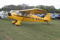 G-BSDK Piper J5A [5-175] Popham 130512