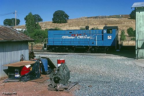 martell california amadorcentralrailroad amc amadorcentral baldwin baldwins12 s12 timberindustry trains train railroads railroad freighttrain