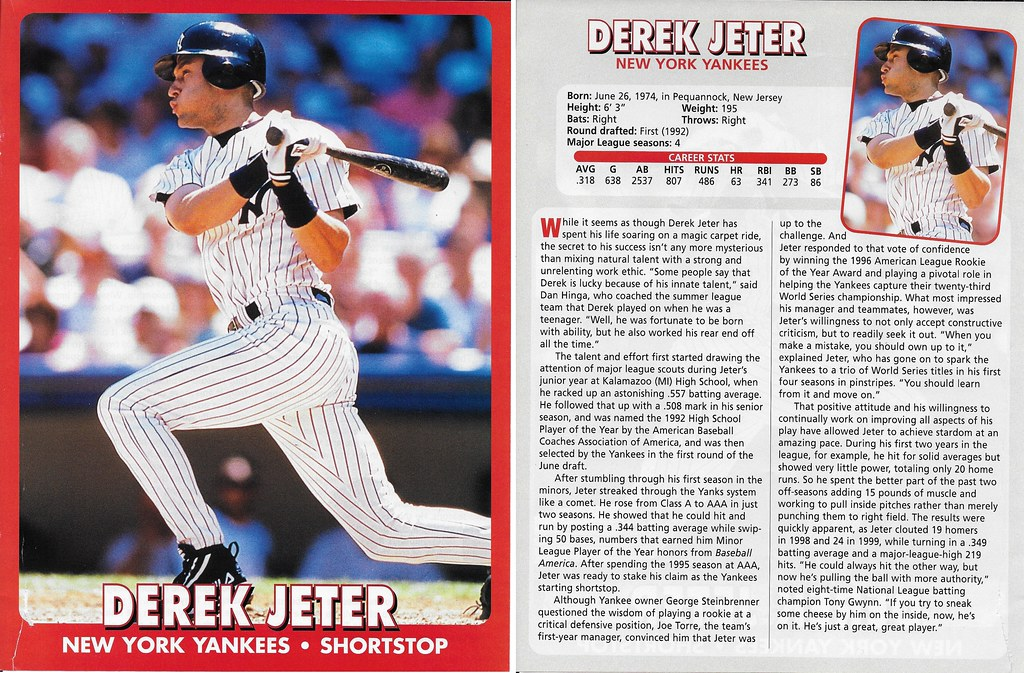 2000 East End Publishing Superstar Album Poster - Jeter