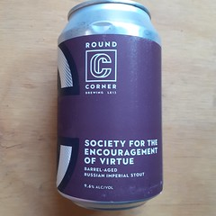 Round Corner - Society for the Encourgement of Virtue (330 ml can)