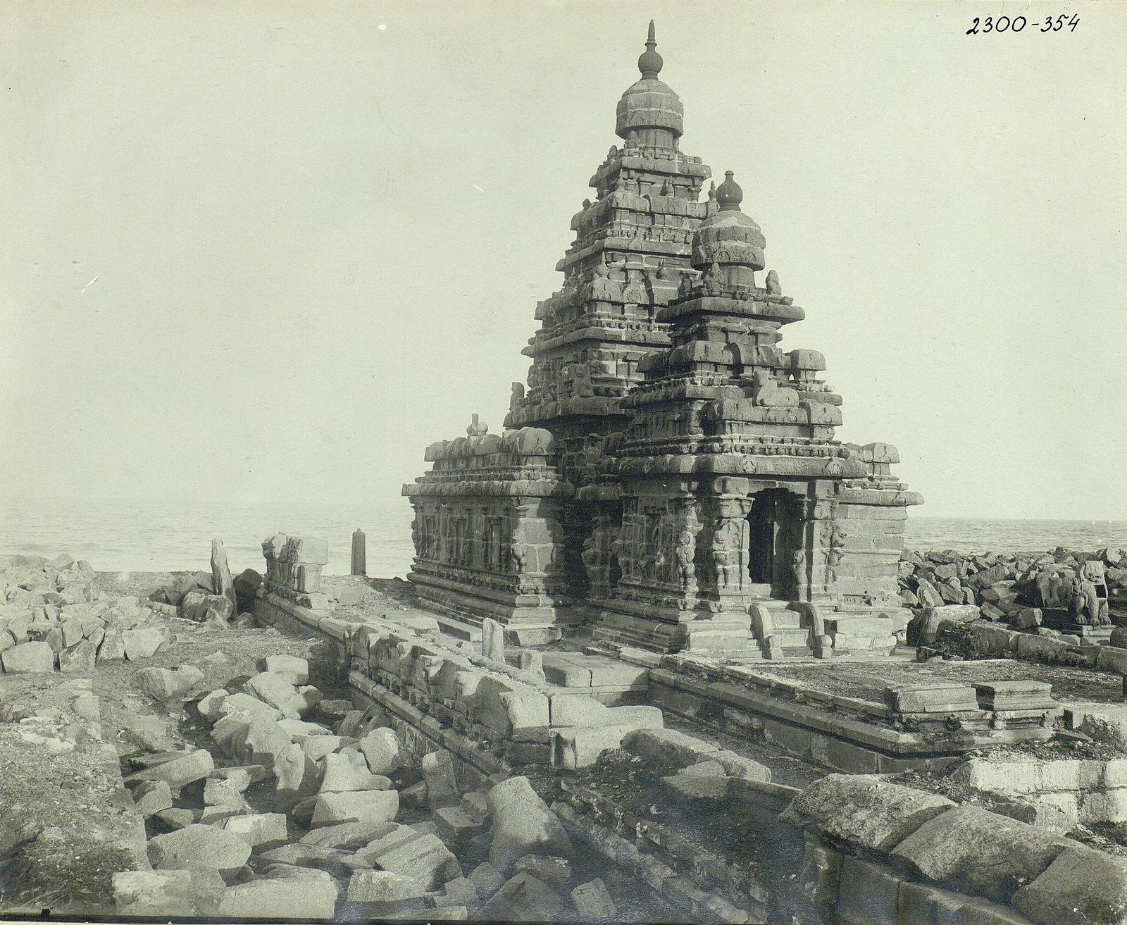 Мамаллапур (храм у моря)