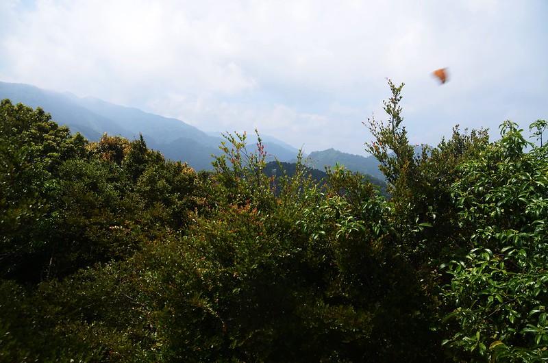 觀音山山頂巨岩南望群山 (2)