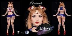 Aquarius Shape for Genus Strong Gift 001 by Galaxy Shapes