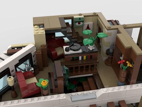 LEGO Contemporary living - First floor interior (living room)_2